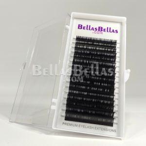 Caja de pestañas BB 0.12 9mm curva C